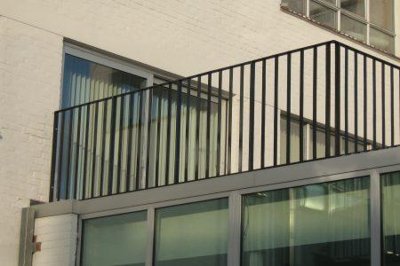 balustrade aluminium metaal brugge west-vlaanderen