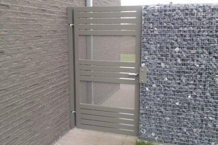 Hekken in metaal of aluminium brugge west-vlaanderen